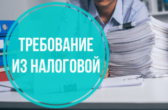 требование документов налоговой